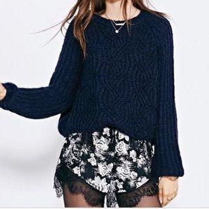 Kimchi Blue Dark Grey Sweater From UO